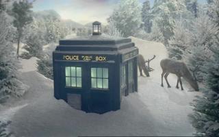La TARDIS.